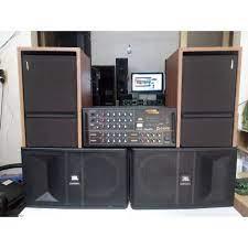 Bộ dàn Karaoke 4 Loa - Âm li Jarguar PA 506N + Loa JBL Ki 81 + Loa Bose 301