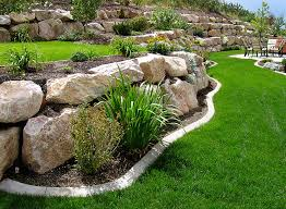 rock retaining walls landscape salt