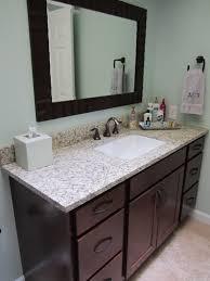 bathroom sink cabinets home depot. Home Depot Bathroom Cabinets And Vanities Under Framed Mirror On Cream Floor Tiles: Sink V