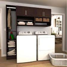 cabinets in laundry room. w mocha open shelves laundry cabinet kit cabinets in room s