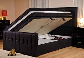 Bed Frame Styles sweet dreams style sparkle black fabric upholstered bed super king 2970 by xevi.us