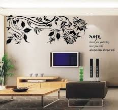 wall sticker ideas for living room images with attractive stickers kids clock 2018