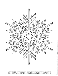 Snowflake Mandala Coloring Pages Get Coloring Pages