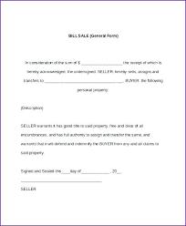 Car Bill Of Sale Pdf 15 General Bill Of Sale Pdf Sample Paystub
