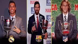 La Liga Top Scorers All Time From 1995 2018 Pichichi Trophy Winners List