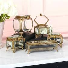 beveled glass brass box asst 5 designs and wall mounted display p
