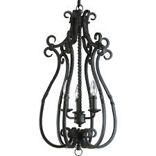 white foyer pendant lighting candle. santiago collection 3light forged black foyer pendant white lighting candle l