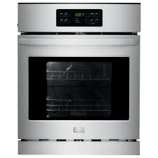 Gas Wall Ovens Reviews Summit Appliance 24 In Single Gas Wall Oven In Black Ttm7212kw