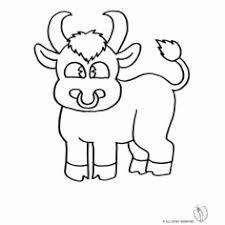 Animali Disegni Colorati Disegno Di Mucca A Colori Per Bambini