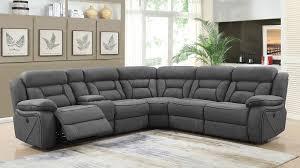 reclining sectional grey. Fine Reclining Camargue Power Reclining Sectional Grey Throughout Grey E