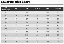 Kids Size Chart Australia Kids Shoe Size Chart Australia Kids Shoe Size Conversion
