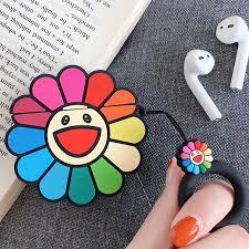 3D Takashi Murakami Kaikai Kiki Rainbow Flower <b>Headphone</b> ...