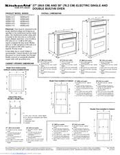 kitchenaid kebssss double wall oven manuals we have 3 kitchenaid kebs208sss 30 double wall oven manuals available for pdf use and care manual installation instructions