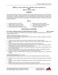 ... Volunteer Resume Sample Hospital Volunteer Resume Sample Church  Volunteer Work On Resume