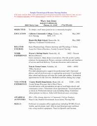 Strong Resume Objective Elegant Graduate Nurse Resume Examples ...