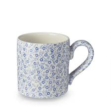 Drinking from one of these cute coffee mugs will start your day on the right foot, thanks to unique design features, fun colors, and unexpected dashes of style. Handmade Mugs Beautiful Floral Patterns Burleigh Pottery