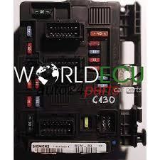 comfort control module citroen c2 siemens t118470003k t118470003 comfort control module citroen c2 siemens t118470003k t118470003 k 9650618480 00 bsm