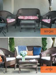 Outdoor Wicker Settee Cushions Awesome Outdoor Cushions Wicker