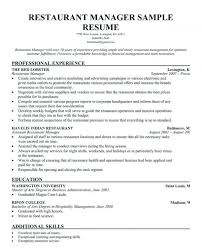 Hr Manager Resume Format Sample Executive Resume Sample Resume Format 2019