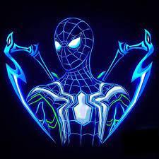 Avengers Infinity War Neon Wallpaper ...