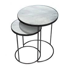 transparant swatch notre monde nesting side table set