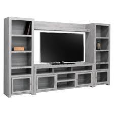 grey entertainment center. Modern Grey Entertainment Center Home Glass Cabinet Doors In