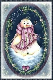 Pin by Myrna Mills on Pintura Decorativa | Christmas paintings, Christmas  snowman, Snowman painting