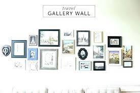gallery wall set frame frames up