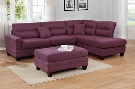 f6587 3 pc martinique warm purple linen
