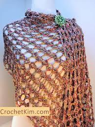 Lacy Crochet Shawl Pattern