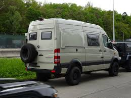 Hrz Sprinter 4x4 Campers Mercedes Sprinter Camper Mercedes