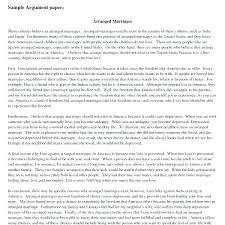 An Example Of An Argumentative Essay Sample Of Argumentative Essay Example Short Argumentative Essay