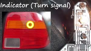 Vw Touran Rear Light Removal Vw Golf Mkiv How To Identify Which Bulb Is Which On The Rear Light Cluster Brake Indicator Fog Etc
