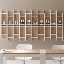 wall mounted shelf slim vismara