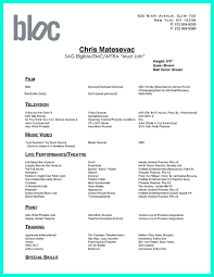 Resume Format For Dance Choreographer Dance Resume Can Be Used For Both Novice And Professional Dancer 23