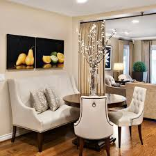 how to create a stylish dining nook with a settee annsliee