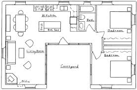 incredible u shaped home with unique floor plan u shaped home designs u shape plan house home remodeling ideas l