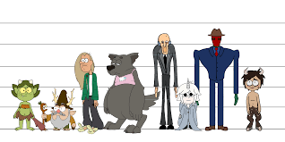 Character Height Chart The Fourth Dimension Week Four Simon Davis