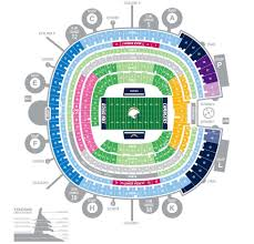 Qualcomm Interactive Seating Chart Pin By Barrys Tickets On San Diego Chargers Qualcomm