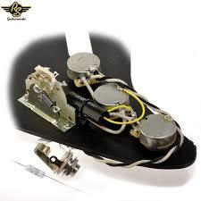 pre wired premium modern strat upgrade kit