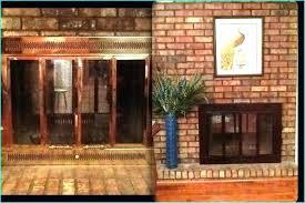 sheen painting brass fireplace surround white life paint doors black shiny repaint