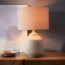 best home elegant ceramic table lamp on brown gold oriental ginger jar with leaf design