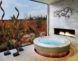 Small Picture LUXURY BATHROOMS WITH FIREPLACES Inspiration and Ideas from