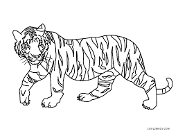 Tiger free coloring pages are a fun way for kids of all ages to develop creativity, focus, motor skills and color recognition. Free Printable Tiger Coloring Pages For Kids