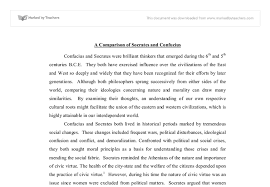 a comparison of socrates and confucius university social  document image preview