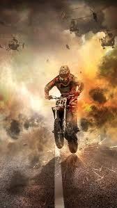 Download Wallpaper 800x1420 Motorcyclist Motorcycle