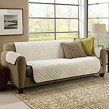 Sofa covers Black Couchcoat Furniture Cover In Browncream Bed Bath Beyond Sofa Slipcovers Couch Covers Bed Bath Beyond