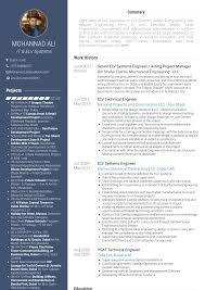 Systems Engineer Resume Samples And Templates Visualcv