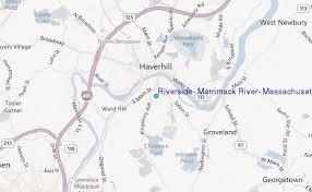 Riverside Merrimack River Massachusetts Tide Station
