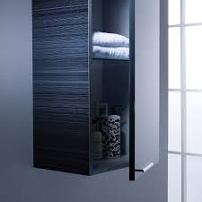 Aluminium Bathroom Cabinets Roper Rhodes Envy 350mm Tall Bathroom Cabinet Anthracite Enc300g 2
